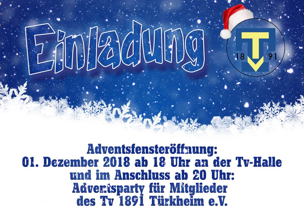 Weihnachten – Tv 1891 Türkheim e.V.